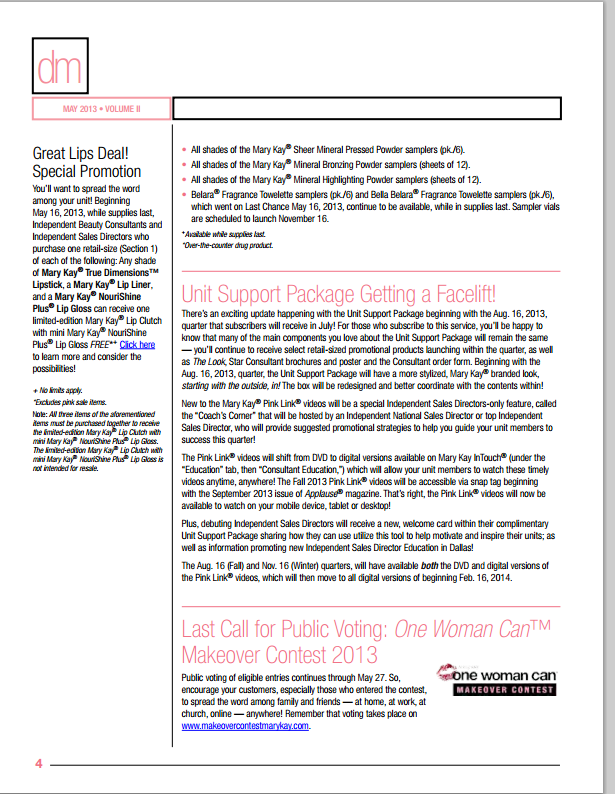 mary kay consultant agreement pdf