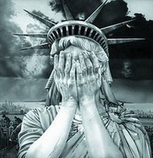 Statue of Liberty Crying - google images