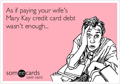 Mary Kay Husband Cartoon